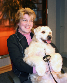 "Gail Kulur - Dog Trainer in New Jersey with ""Spike"""